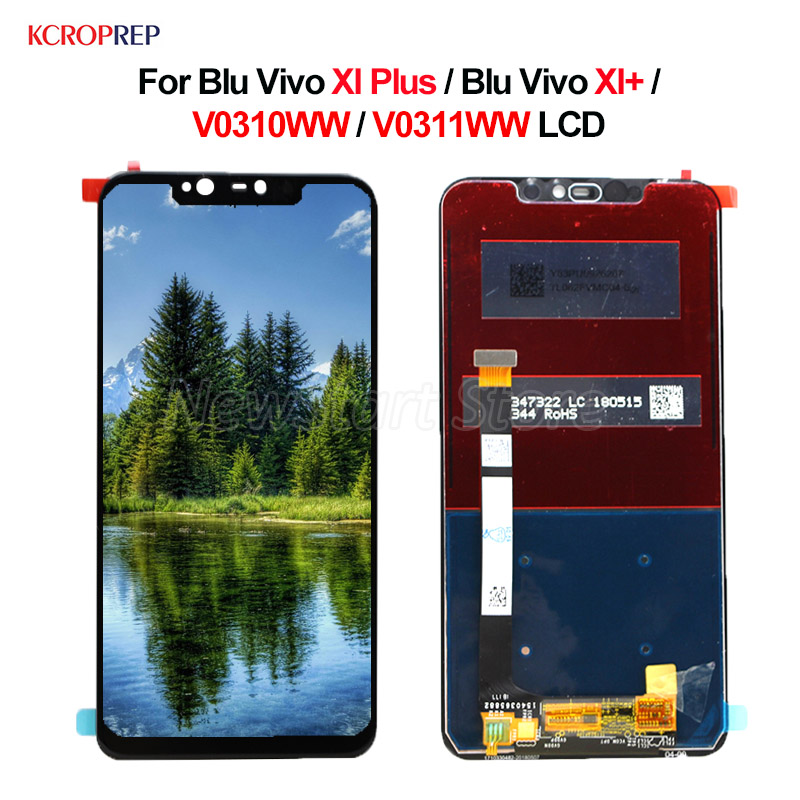 100% New For Blu Vivo Xi Plus LCD Display Touch Screen Digitizer Assembly 6.2 For Blu Vivo Xi+ lcd V0310WW V0311WW Replacement100% New For Blu Vivo Xi Plus LCD Display Touch Screen Digitizer Assembly 6.2 For Blu Vivo Xi+ lcd V0310WW V0311WW Replacement