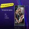 Protector de pantalla para lenovo p70 p70t guardia de pantalla de cristal templado 9 h 2.5d arco edge 0.26mm anti-explosión película protectora