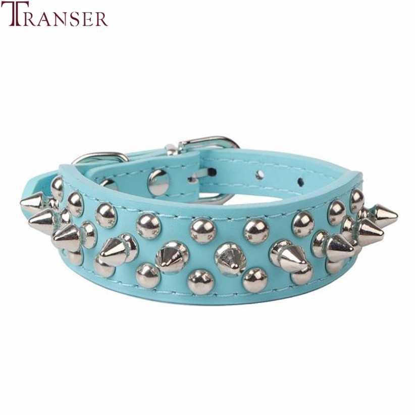 Transer товары для собак из искусственной кожи панк заклепки собачий ошейник с шипами ошейники для маленьких собак кошек 80124