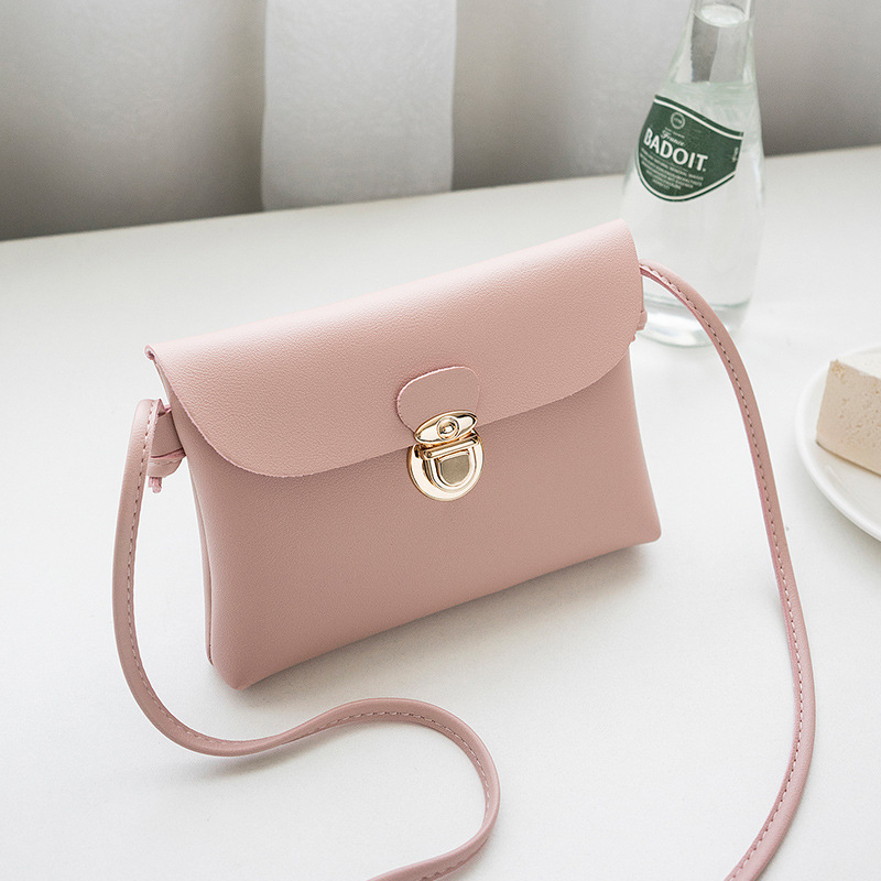 Crossbody Bags For Women 2018 Hot Fashion Mini Pink Korean Style Messenger Bags Elegant Ladies Handbags Envelope shoulder Bags