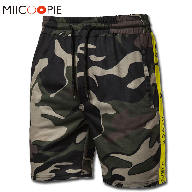 Mens Military Cargo Shorts 2019 Brand New Army Camouflage Shorts Knee Length Men Work Casual Compression Short Homme Streetwear