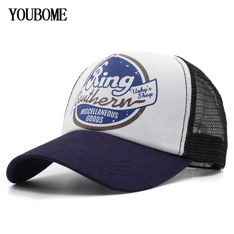 YOUBOME Baseball Cap Men Brand Snapback Caps Women Hats For Men 5 Panel Mesh Summer Casual Casquette Bone MaLe Dad Cap Hat gold embroidery crown baseball cap women summer cap snapback caps for women men lady s cotton hat bone summer ht51193 35