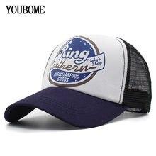 YOUBOME Berretto Da Baseball Degli Uomini di Marca Snapback Caps Donne  Cappelli Per Gli Uomini 5 Pannello di Estate Della Maglia. 0240525c6a46