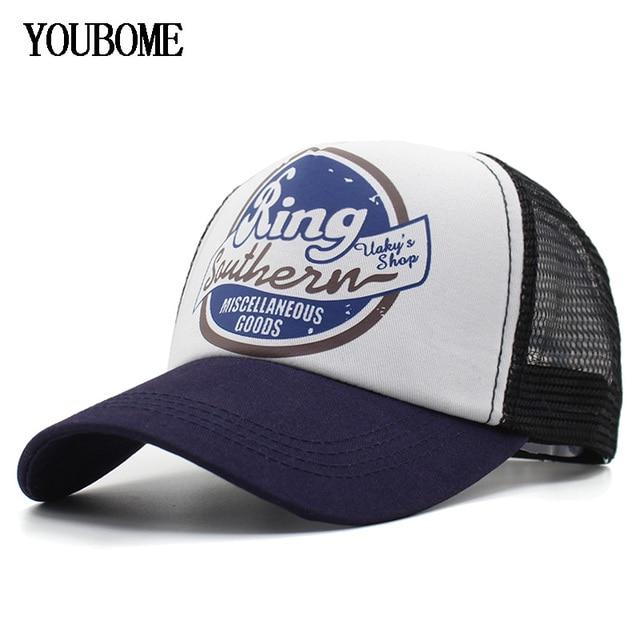 1e900cc83ae YOUBOME Baseball Cap Men Brand Snapback Caps Women Hats For Men 5 Panel Mesh  Summer Casual Casquette Bone MaLe Dad Cap Hat