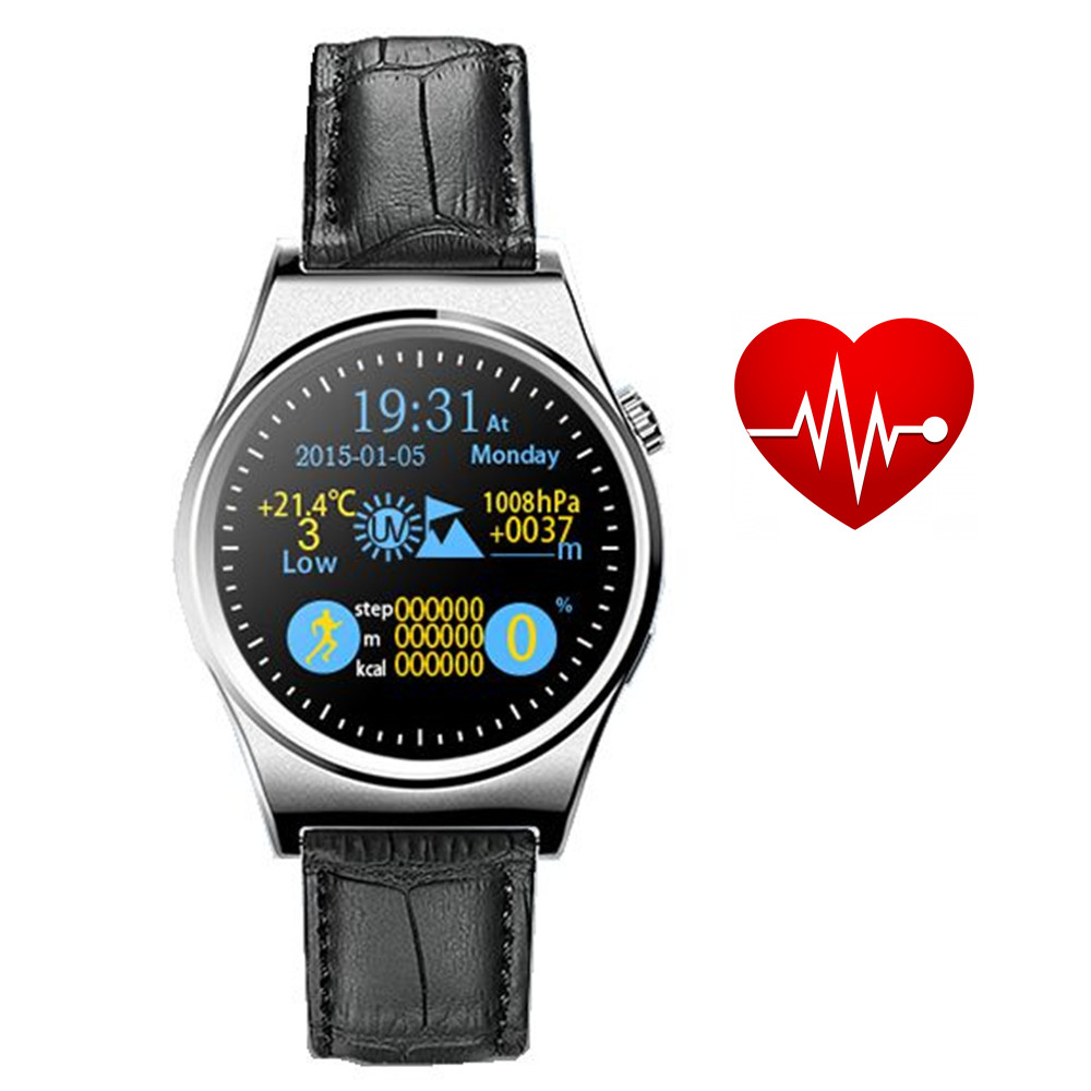 ФОТО Sport  X10  smart watch time clock with IPS round screen heart rate monitor Altimeter montre connecter for Android IOS phone