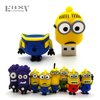 Easy Learning USB 2.0 Cartoon Minions Family USB Flash Drive 4GB 8GB 16GB 32GB 64GB Memory Stick Pen Drive Flash Card Pendrives