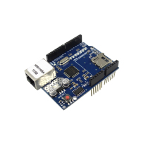 Free Shipping Low Price For Arduino Ethernet W5100 Network Expansion Development Board Learning DIY SD Card