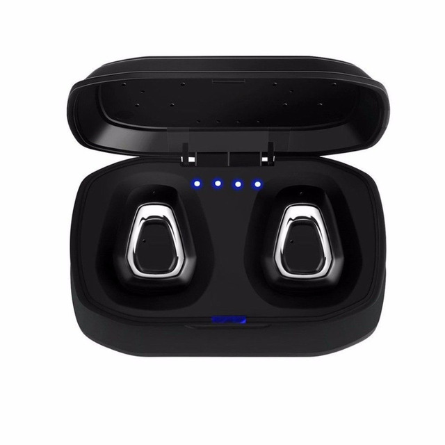 A7 TWS Wireless Bluetooth Headset Stereo Handfree Sports Bluetooth Earphone With Charging Box For iphone Android PK X2T i7/i7s