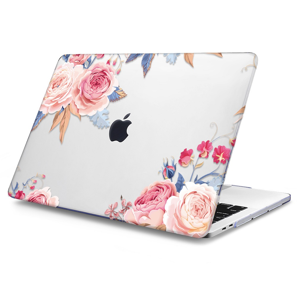 Floral Printing Hard Case for MacBook 140