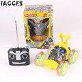 Coche del rc monster truck stunt radio baile eléctrico modelo de deriva rueda giratoria vehículo motor control remoto toys