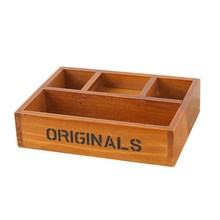 DIY Home Storage Box Natural Wooden Storage Box Jewelry Box Home Organizer Handmade Craft Jewelry Case Fleshy Flower Pot