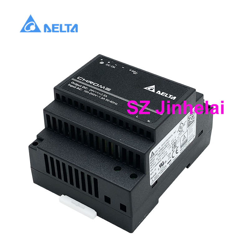 DELTA DRC 24V60W1AZ Authentic original Switching power supply 2.5A 60W DIN Rail Power Supply with Class II Double Isolation