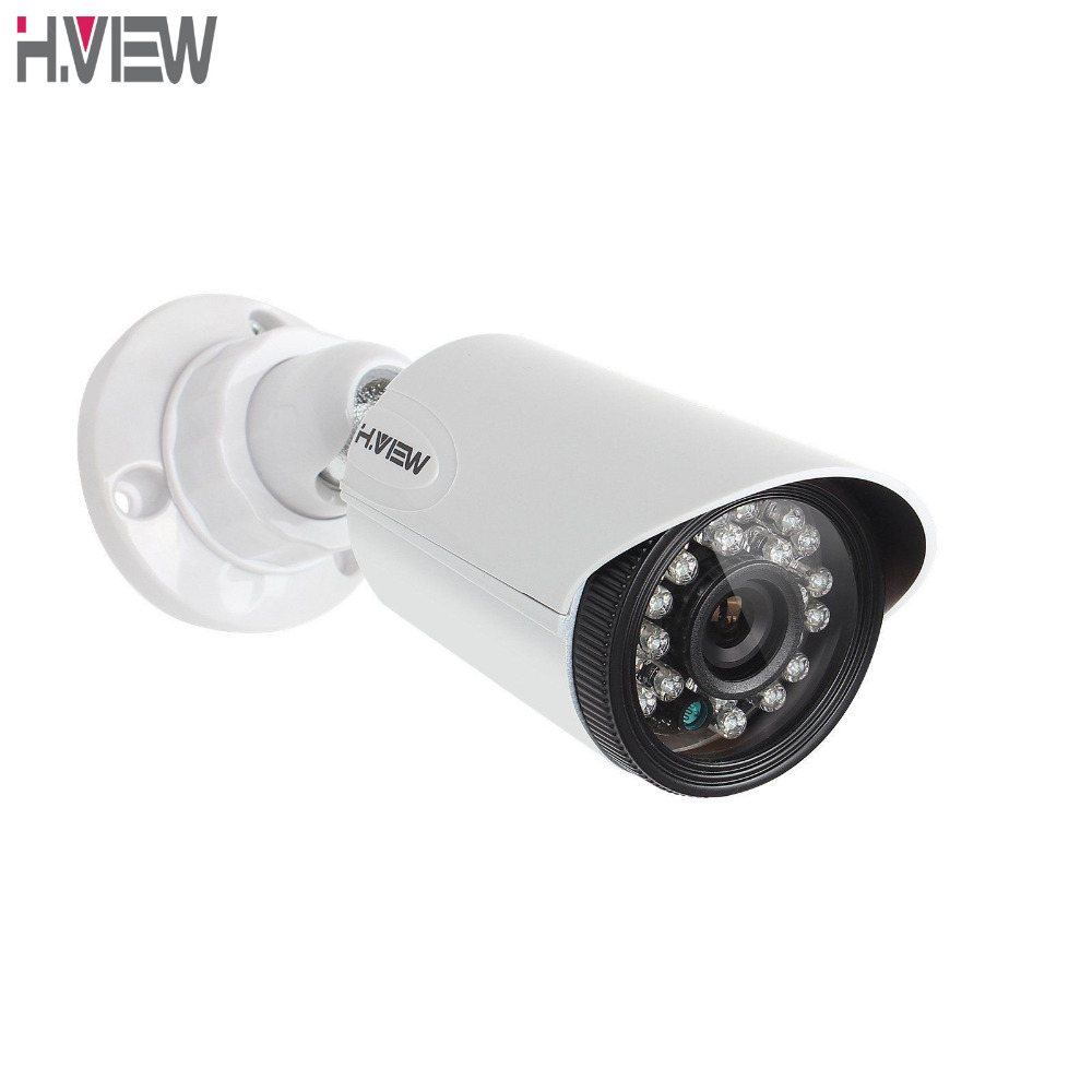 H.View CCTV Security Camera CMOS 720P Bullet Waterproof Outdoor 3.6mm IR Cut Night Vision CCTV Camera AHD Camera For AHD DVR 1 0mp ahd camera waterproof ir night outdoor 720p cctv camera 8ch 1080p hdmi p2p remote view motion detect ahd dvr security kit