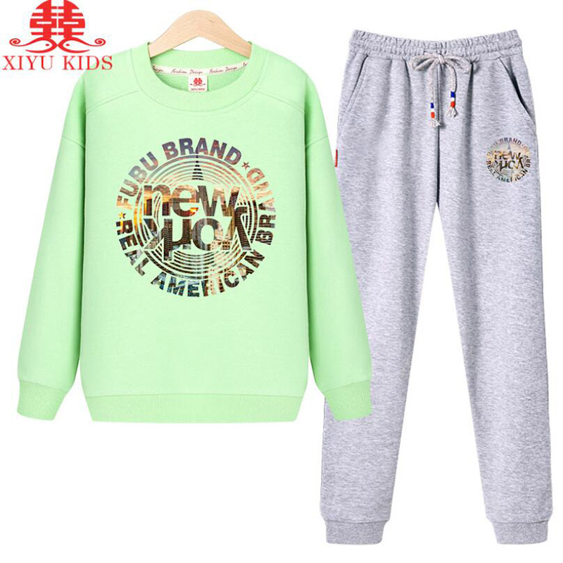 xiyu brand boys clothing set autumn tracksuit kids clothes for children Sports suit for boys girls Children's winter suit print lavla2016 new spring autumn baby boy clothing set boys sports suit set children outfits girls tracksuit kids causal 2pcs clothes