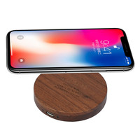 2017 New Arrival QI Wireless Charging Pad Station Wireless Charger For IPhone X 8 Plus For