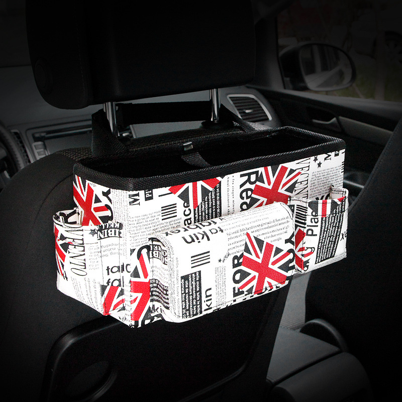Auto achterbank Opvouwbare draagbare opbergbox Multi-Use Auto - Auto-interieur accessoires - Foto 2