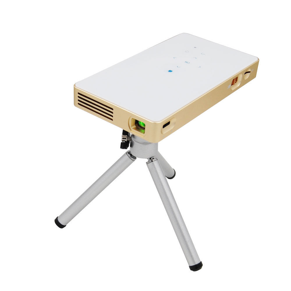 Blueskysea p8 android4.4 proyector dlp hdmi hd 1080 p 2.4g y 5.8g wifi bluetooth