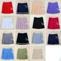 Юбки женщин 2017 летний стиль корейских высокой талии юбка ctue kawaii плюс размер равномерное harajuku плиссированные мини КОСПЛЕЙ юбка