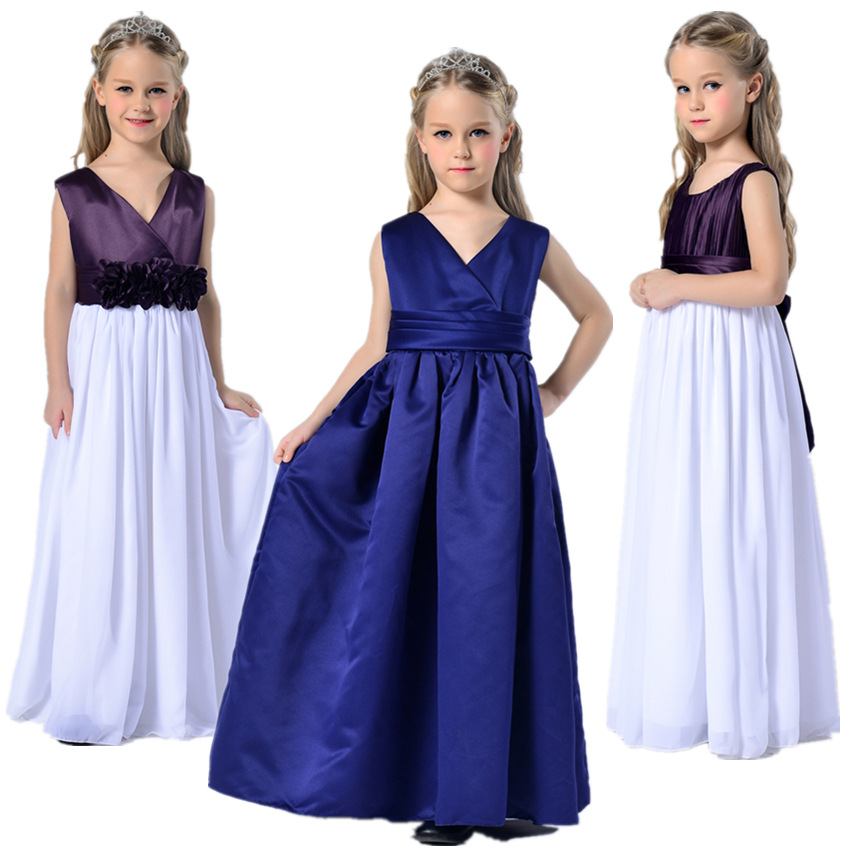 United States in the long and large girls in high end wedding dress dress children s