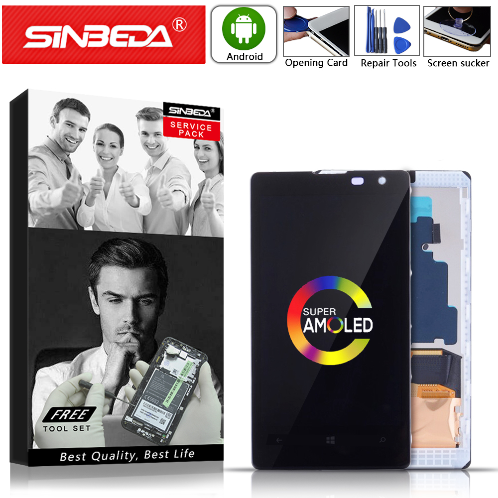 4.5Super AMOLED For NOKIA Lumia 1020 LCD Display Touch Screen with Frame Digitizer Display LCD Replacement Mobile Phone Repair#4.5Super AMOLED For NOKIA Lumia 1020 LCD Display Touch Screen with Frame Digitizer Display LCD Replacement Mobile Phone Repair#