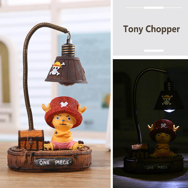 "One Piece"" Monkey-D-Luffy/Tony Chopper Garage Kits Light"