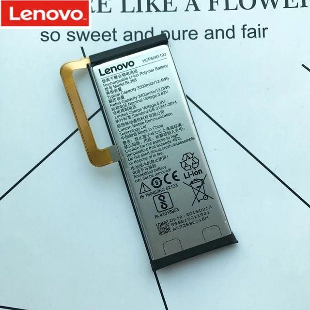 Новый 100% Оригинальные Замена Батарея BL268 3500 мАч для lenovo ZUK Z2 смарт-мобильный телефон с номером отслеживания