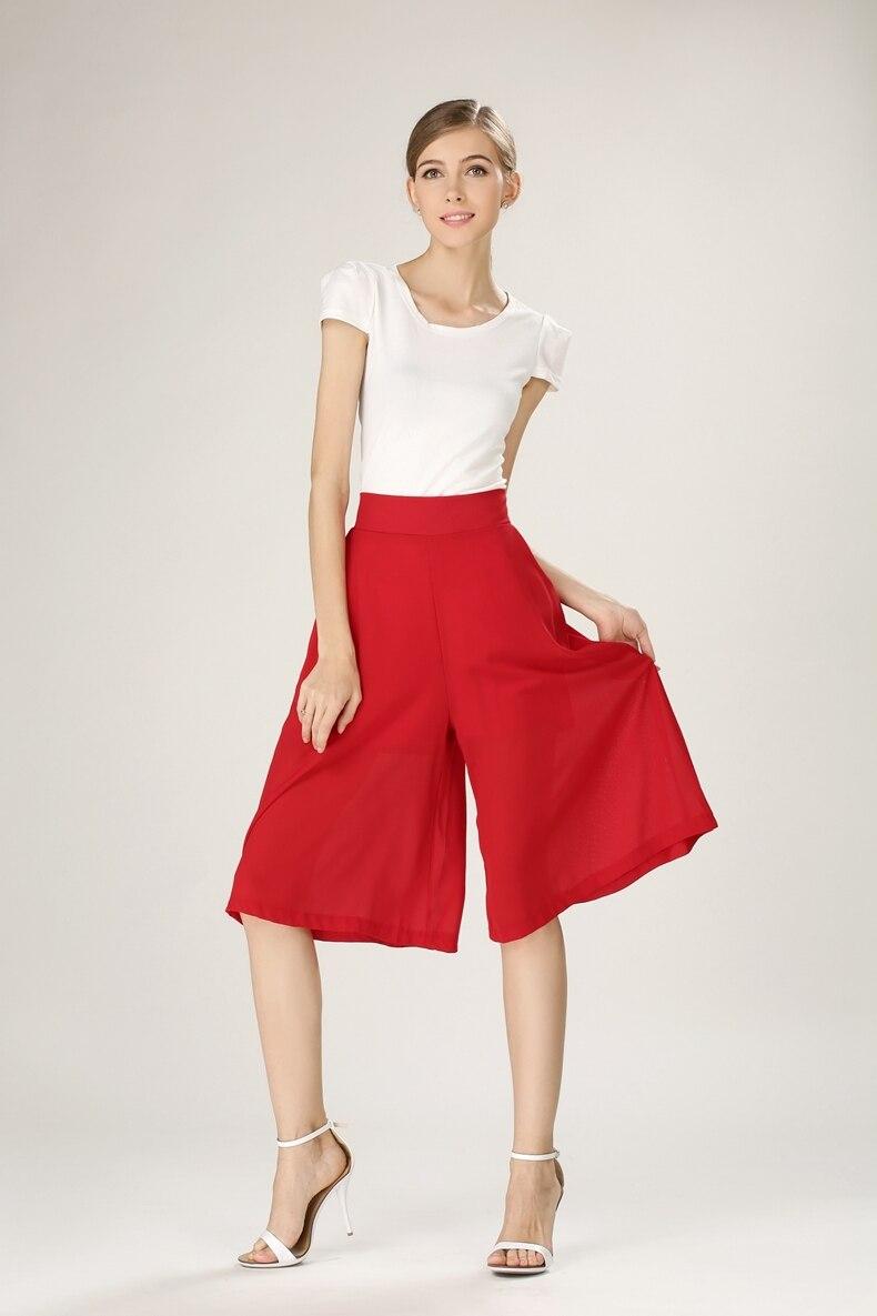 Aliexpress.com : Buy Women summer chiffon loose casual palazzo ...