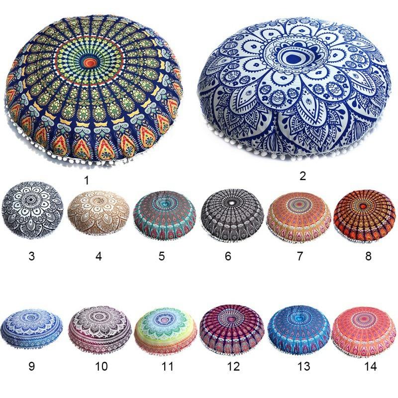 Polyester Cushion Bohemian Geometric Pillowcase Home Decorative Pillow For Sofa Car