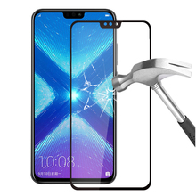 Protective Glass For Huawei honor 8x 8c 8 x c lite Tempered Glas on honor x8 honor8c honor8 lite c8 Case Screen Protector Cover