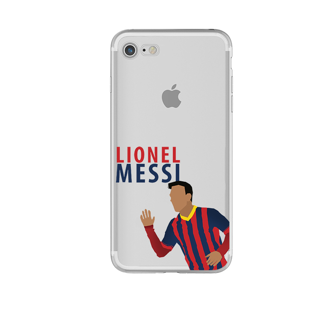05064ae16 FC Barcelona Messi Phone Cases for iphone 5s 7 6 6s 5 se 6splus 7plus
