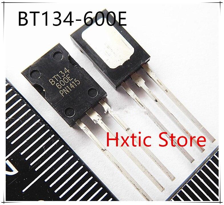 NEW 10PCS/LOT BT134-600E PH 600E BT134 BT134-600 Triac TO-126 IC