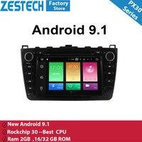 8 Android 9,1 2din автомобиля радио, DVD, GPS плеер для Mazda 6 2008 2009 2010 2011 2012 автомобильное радио для машины видео мультимедиа для mazda 6