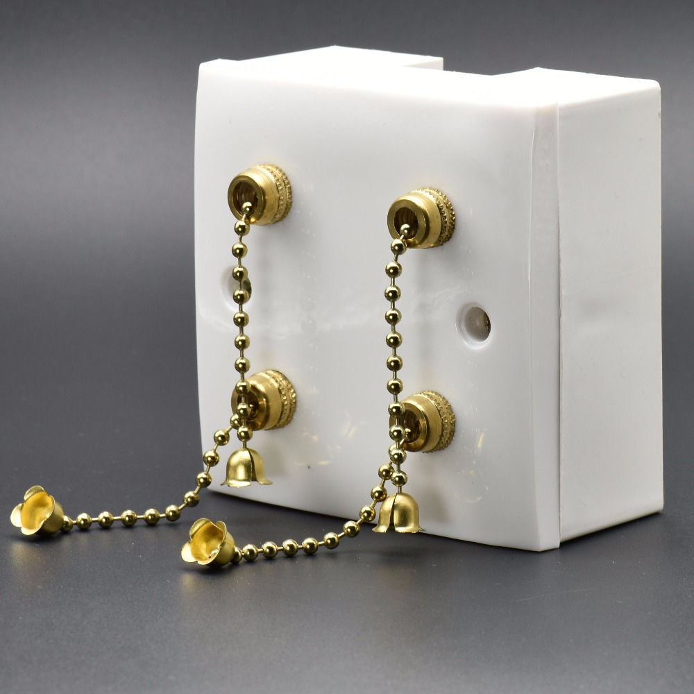 Wall Pull Chain Switches Ceiling Lamp Light Switch Hall Stores