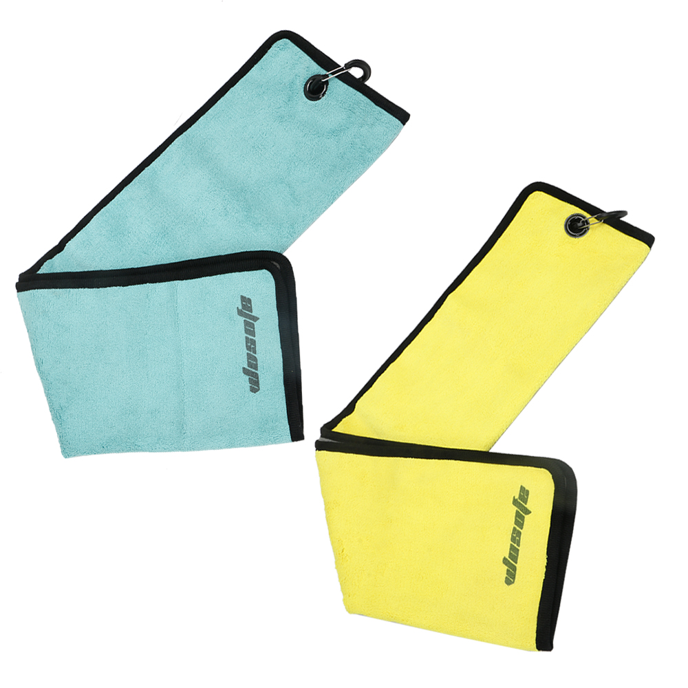 Golf towel Microfiber Cotton Water Absorption sport comfortable Soft Golf sports towel free shipping in Golf Training Aids from Sports Entertainment