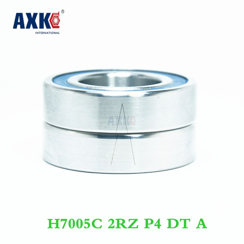 Axk 1 Pair 7005 H7005c 2rz P4 Dt A 25x47x12 25x47x24 Sealed Angular Contact Bearings Speed Spindle Bearings Cnc Abec-7 1 pair mochu 7005 7005c 2rz p4 dt 25x47x12 25x47x24 sealed angular contact bearings speed spindle bearings cnc abec 7