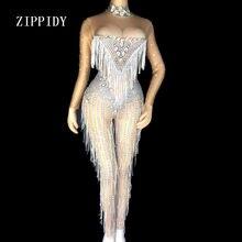 983b6d0788344 Popular Crystal Bodysuit Costume-Buy Cheap Crystal Bodysuit Costume ...
