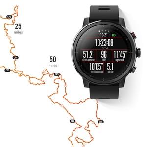 Image 4 - Amazfit Stratos Astuto Della Vigilanza APP Ver 2 GPS Monitor di Frequenza Cardiaca 5 ATM Impermeabile Xiaomi Ecosistema Smartwatch