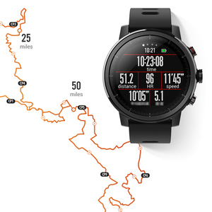 Image 4 - Amazfit Stratos Smart Uhr APP Ver 2 GPS Herz Rate Monitor 5 ATM Wasserdicht Xiaomi Ökosystem Smartwatch