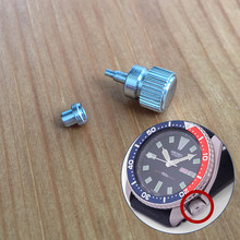 steel waterproof crown for Seiko Prospex 41mm mens automatic watch