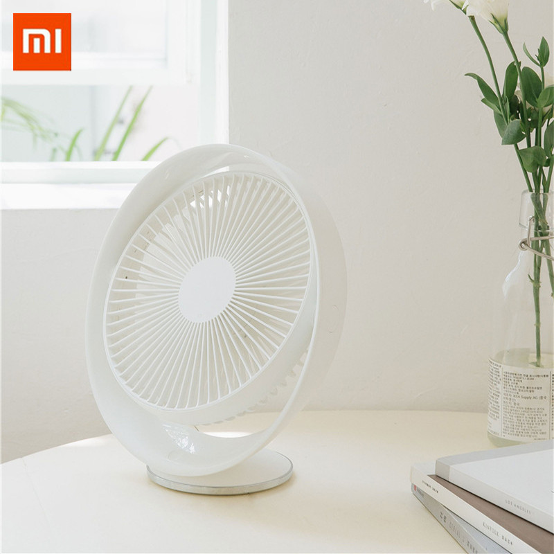 Xiaomi 3life 327 Desktop Fan Air Circulation Rechargeable Electric Fan Natural Wind Usb Rechargeable 12 Inches Angle Adjustable