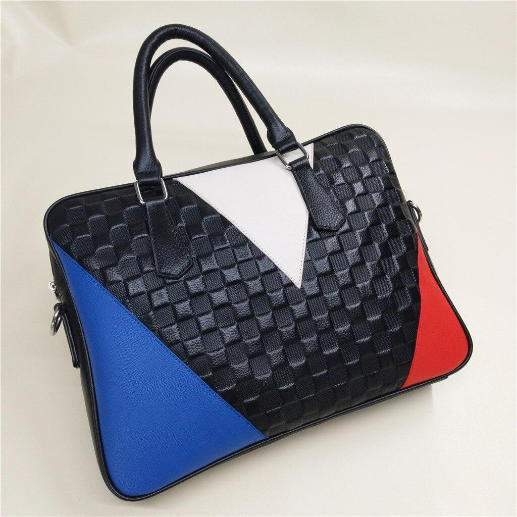 2019 porte-documents sac à main pour femmes pochette d'ordinateur en cuir véritable élégant bureau dame Carrer sac de travail