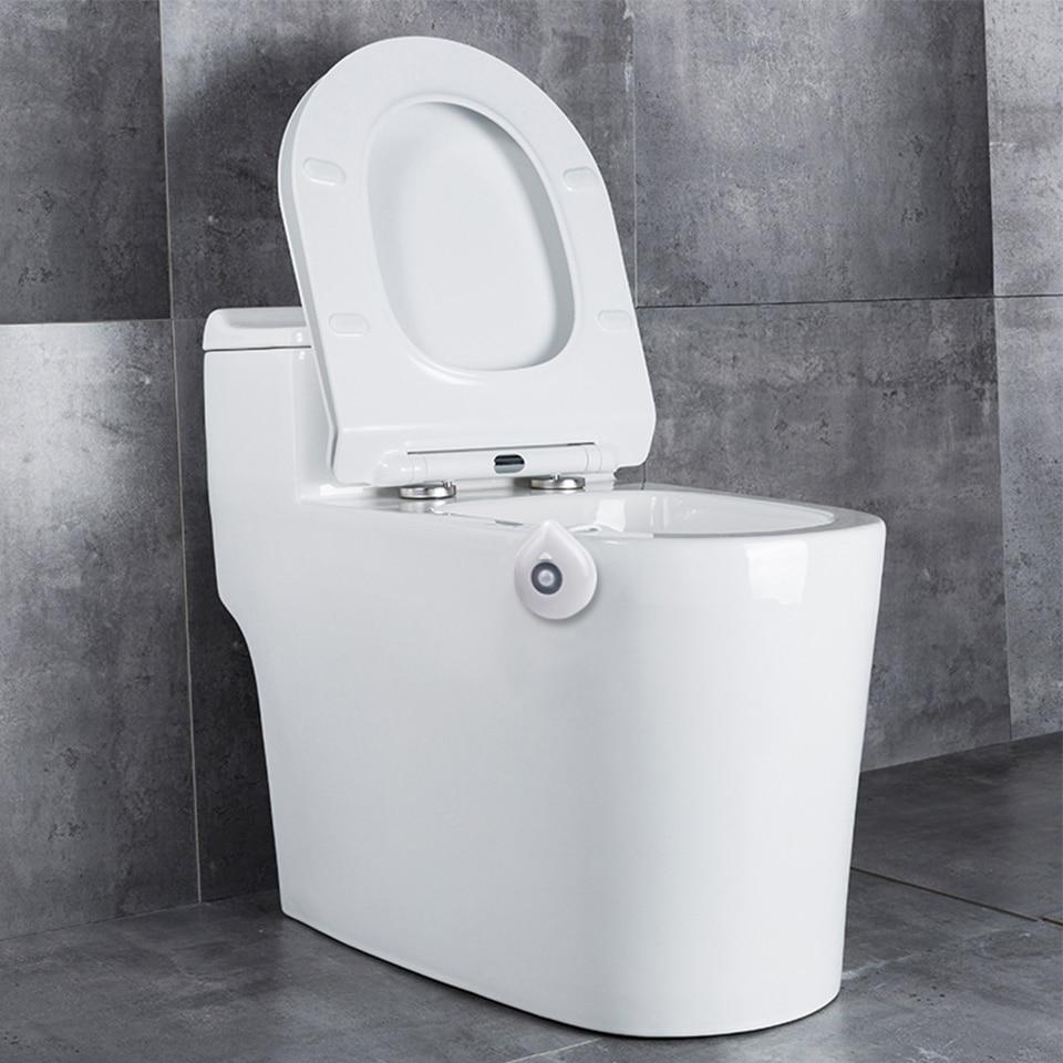 Φωτάκι νυκτός καθίσματος τουαλέτας με αισθητήρα κίνησης και εναλλαγές 8 χρωμάτων msow