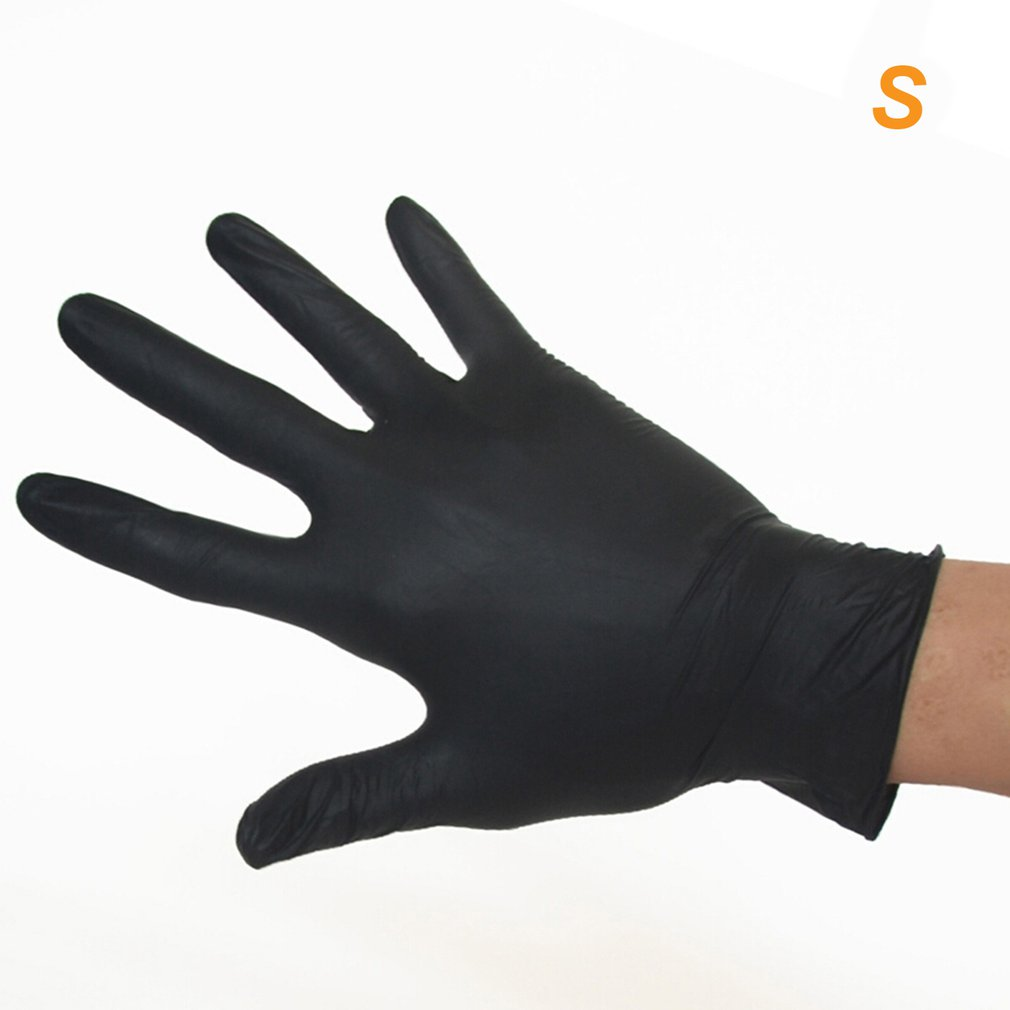 GPNBC Aimas Disposable Rubber Gloves Thick And Durable Anti-acid And Acid Laboratory Industrial Nitrile Gloves