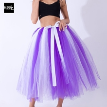 Best Quality Hand Made Maxi Long Skirt Female Ball Gown Tulle Tutu Skirts Womens Petticoat Adjustable Waist faldas saia jupe