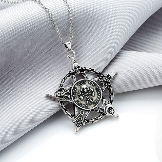 STAR Skull LUMINOUS NECKLACE