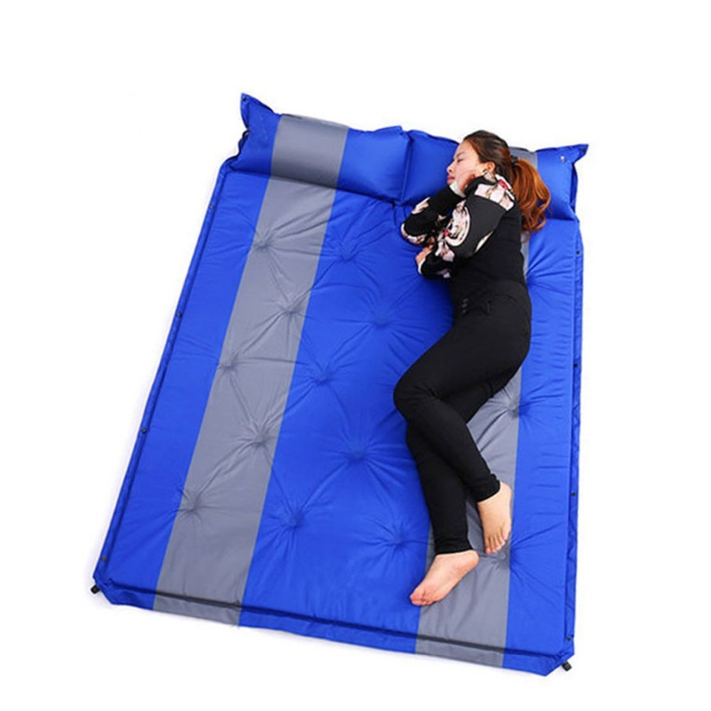 ФОТО  Wnnideo Air Mattresses Self Inflate Air Mat Mattress Self-Inflating Pad Portable Double Bed With Built