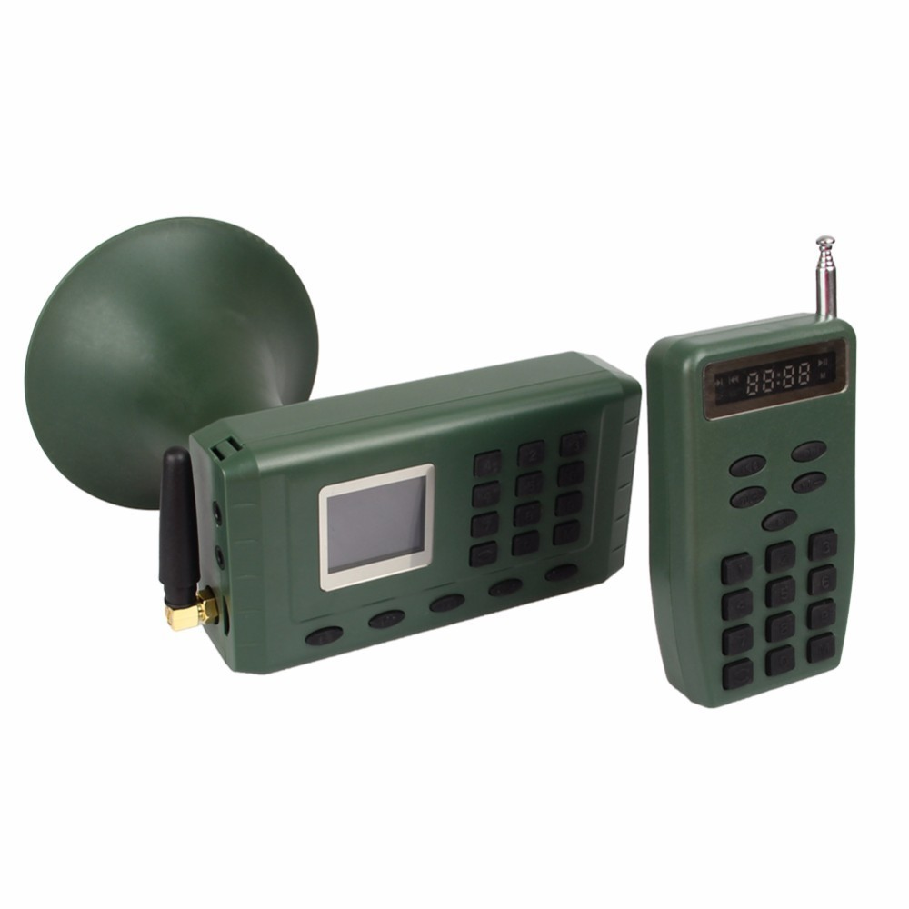 Hunting Decoy Bird Caller Birds Sound Loudspeaker Electronics Built in Mp3 Player with Remote Control Timer