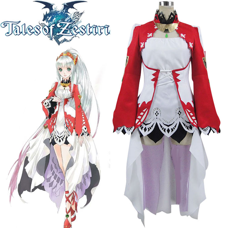Tales of Zestiria the X TOZ Lailah Customs Size Uniforms Cosplay Costume Free Shipping