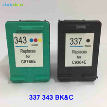 Einkshop compatible ink Cartridge for hp 337 343 for hp Photosmart C4180 2575 8050 D5160 C4190 Deskjet 6940 D4160 Printer einkshop compatible ink cartridge for hp 337 343 for hp photosmart c4180 2575 8050 d5160 c4190 deskjet 6940 d4160 printer