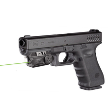 Drop shipping Glock picatinny green laser sight with tactical led light gun green laser light combo laser light combo